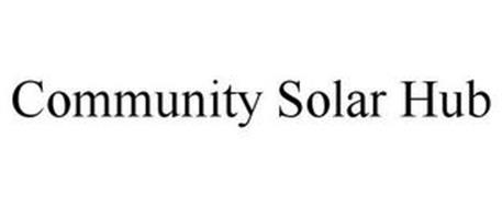 COMMUNITY SOLAR HUB