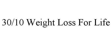 30/10 WEIGHT LOSS FOR LIFE
