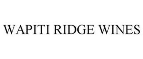 WAPITI RIDGE WINES