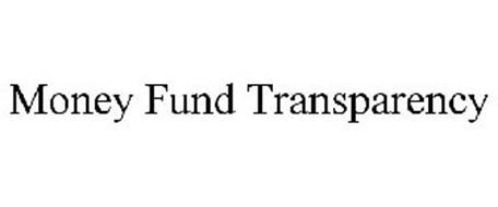 MONEY FUND TRANSPARENCY