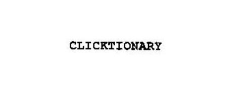 CLICKTIONARY
