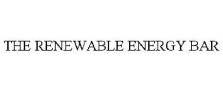 THE RENEWABLE ENERGY BAR
