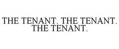THE TENANT. THE TENANT. THE TENANT.