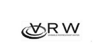 VRW VARIABLE REFRIGERANT WATER