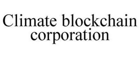 CLIMATE BLOCKCHAIN CORPORATION