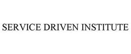SERVICE DRIVEN INSTITUTE