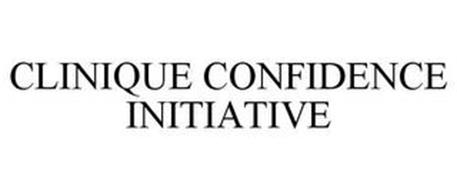 CLINIQUE CONFIDENCE INITIATIVE
