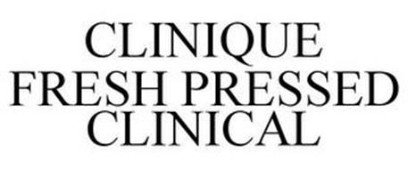 CLINIQUE FRESH PRESSED CLINICAL
