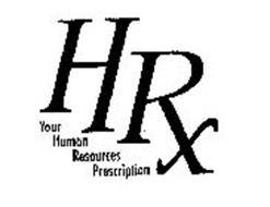 HRX YOUR HUMAN RESOURCES PRESCRIPTION