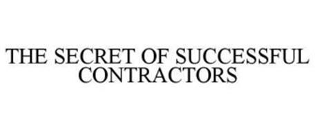 THE SECRET OF SUCCESSFUL CONTRACTORS