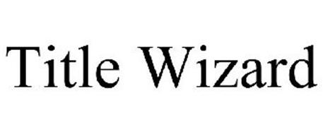 TITLE WIZARD