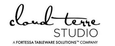 CLOUD TERRE STUDIO A FORTESSA TABLEWARE SOLUTIONS COMPANY