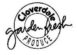 CLOVERDALE GARDEN FRESH PRODUCE