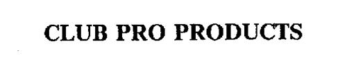 CLUB PRO PRODUCTS