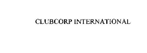 CLUBCORP INTERNATIONAL