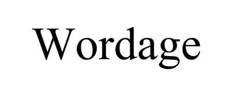 WORDAGE