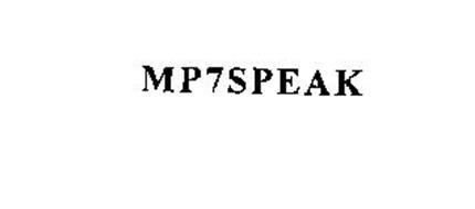 MP7SPEAK