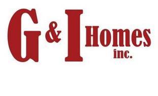 G & I HOMES INC.