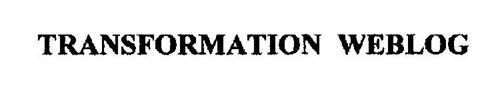 TRANSFORMATION WEBLOG