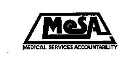 MESA MEDICAL SERVICES ACCOUNTABILITY