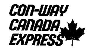 CON-WAY CANADA EXPRESS