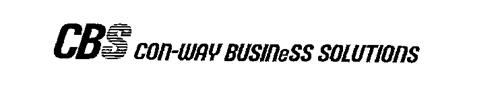 CBS CON-WAY BUSINESS SOLUTIONS