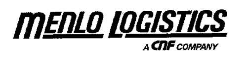 MENLO LOGISTICS A CNF COMPANY
