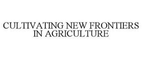 CULTIVATING NEW FRONTIERS IN AGRICULTURE