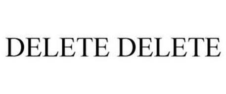 DELETE DELETE