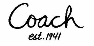COACH EST. 1941