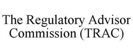 TRAC THE REGULATORY ADVISOR COMMISSION