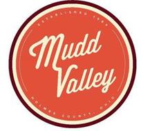 MUDD VALLEY ESTABLISHED 1984 HOLMES COUNTY, OHIO