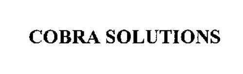 COBRA SOLUTIONS