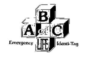 ABC OF LIFE EMERGENCY IDENTI-TAG