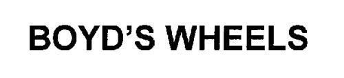 BOYD'S WHEELS