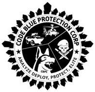 CODE BLUE PROTECTION CORP CBPC ANALYZE DEPLOY, PROTECT, ELITE