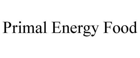 PRIMAL ENERGY FOOD