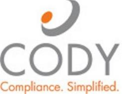 CODY COMPLIANCE. SIMPLIFIED.