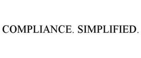 COMPLIANCE. SIMPLIFIED.