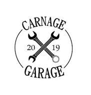 CARNAGE GARAGE 2019