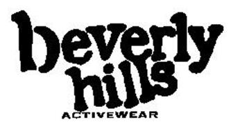 BEVERLY HILLS ACTIVEWEAR