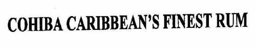 COHIBA CARIBBEAN'S FINEST RUM