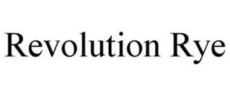 REVOLUTION RYE