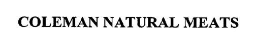 COLEMAN NATURAL MEATS