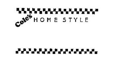 COLE'S HOME STYLE