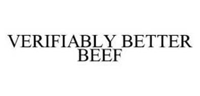 VERIFIABLY BETTER BEEF