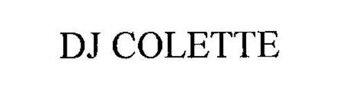 DJ COLETTE