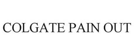 COLGATE PAIN OUT