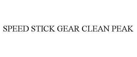 SPEED STICK GEAR CLEAN PEAK