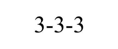 3-3-3